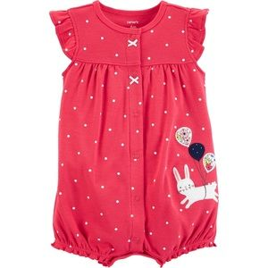 Carter's baby girl romper size 9 months
